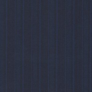 Benjamin Crosland 100% Wool Super 150s Blue with Stripes