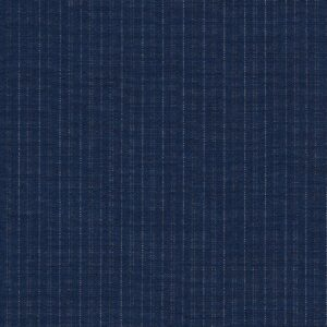 Dormeuil Iconik Super 120s 100% Worsted Blue with Stripes