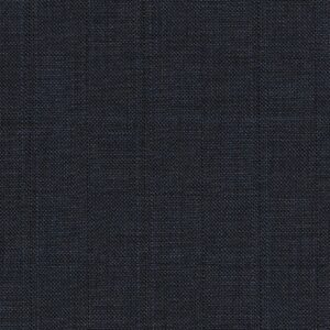 Dormeuil Iconik Super 120s 100% Worsted Checked Greyish Blue with Stripes