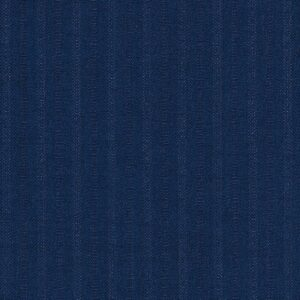 Dormeuil Iconik Super 120s 100% Worsted Blue with Stripes - James Hardinge