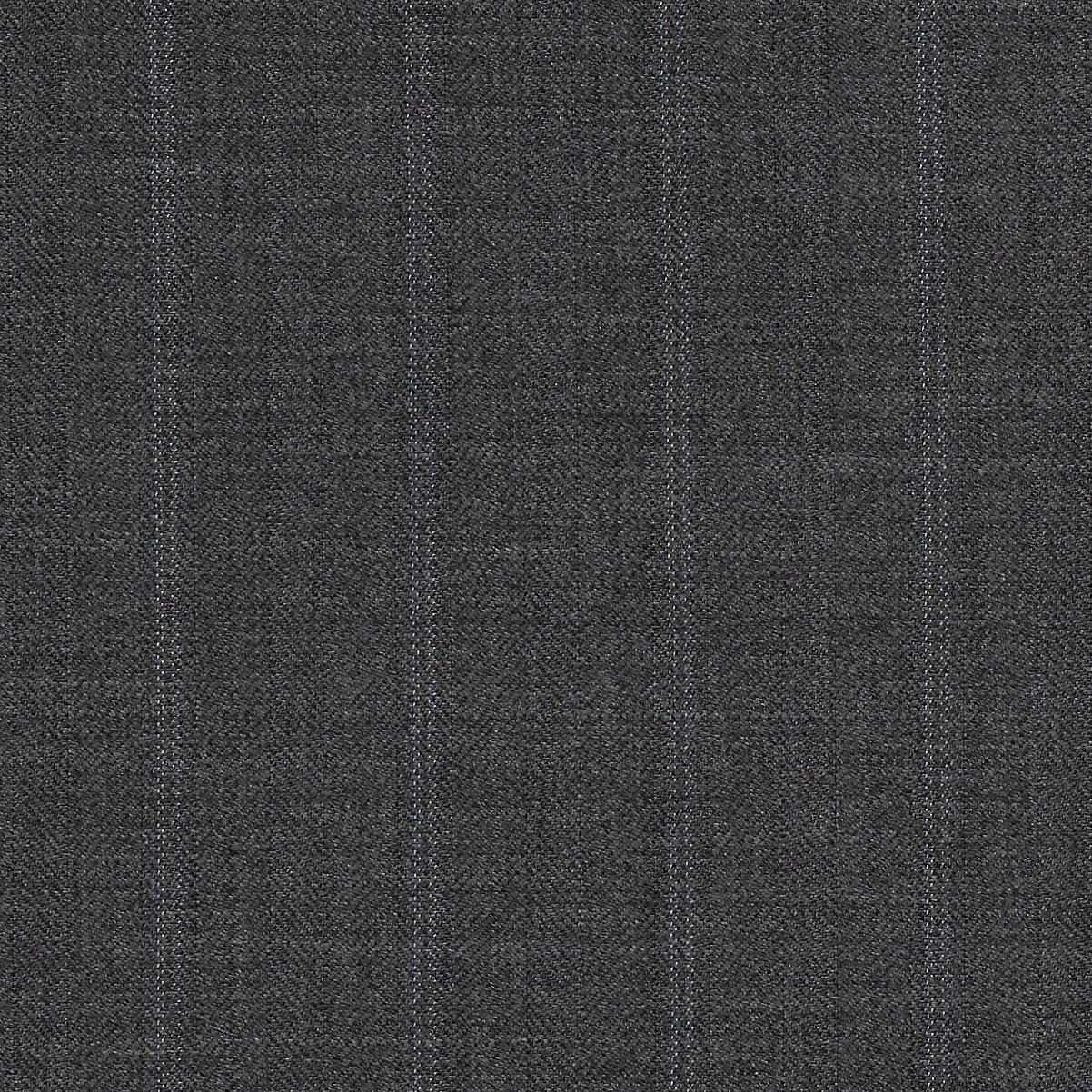 Dormeuil Iconik Super 120s 100% Worsted Grey with Stripes