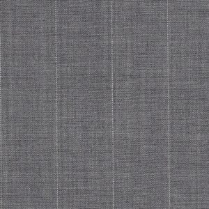 Dormeuil Tropical Amadeus Pure Wool Grey with Stripes