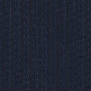 Holland and Sherry Mille Miglia Super 140s Pure Wool Blue with Stripes