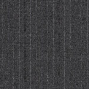 Dormeuil Finest 15.7 super 160s grey with stripes