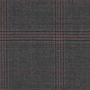 Holland and Sherry Swan Hill 2018 gray/red fancy mock glen 1 1/2 x 2 inch