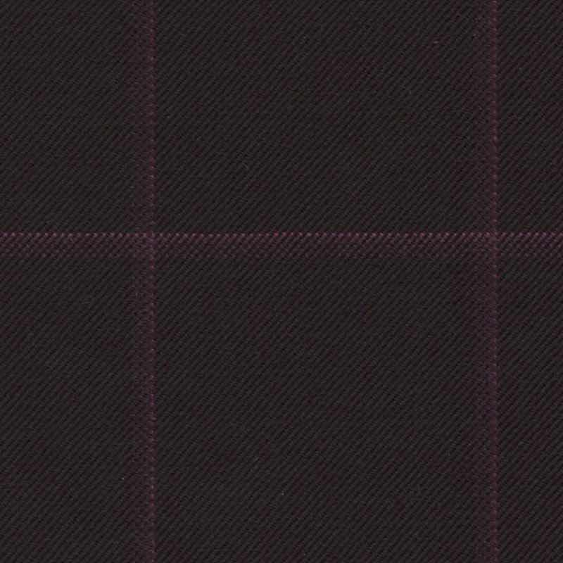 Holland and Sherry Swan Hill 2018 black/magenta windowpane 1 6/8 x 2 inch