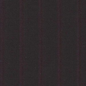 Holland and Sherry Swan Hill 2018 black/deep magenta shadow stripe 1/2 inch
