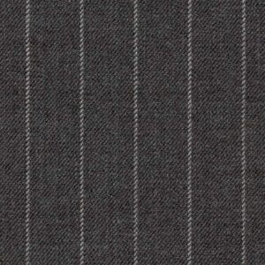 Holland and Sherry Swan Hill 2018 mid gray chalk stripe 1/2 inch
