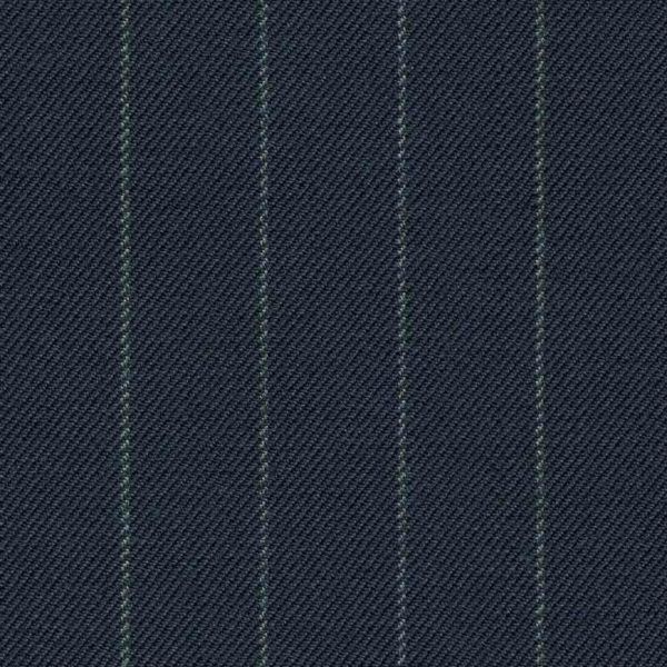 Holland and Sherry Swan Hill 2018 navy chalk stripe 1/2 inch