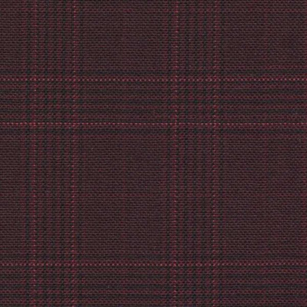 Holland and Sherry Swan Hill 2018 maroon mock glen check 1 2/8 x 1 5/8 inch