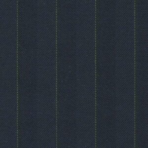 Holland and Sherry Swan Hill 2018 navy/bottle green herringbone stripe 6/8 inch