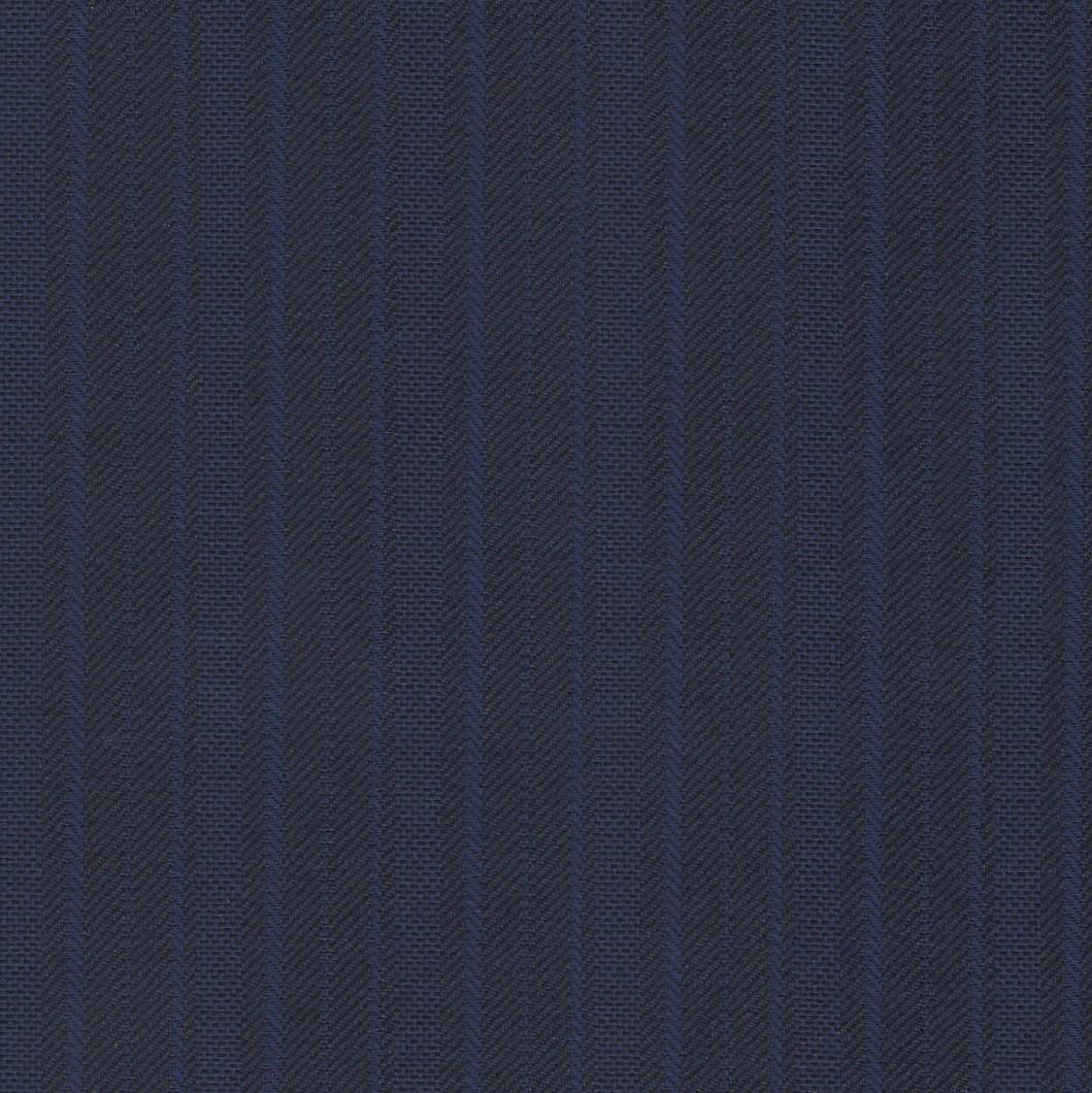 Benjamin Crosland 100% Wool Super 150s Blue with Stripes